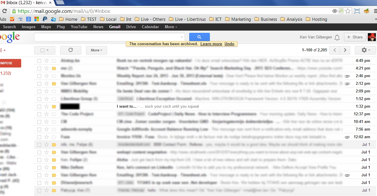 gmail inbox picture