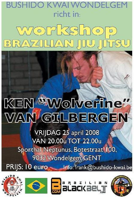 BJJ Stage te Gent